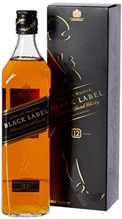 Black Label Price >> Johnnie Walker Black Label Whisky 1 L